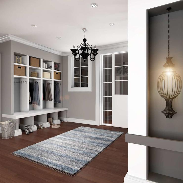 Yunus Emre | Design d'intérieur Couloir, couloir et escaliers modernes par VERO CONCEPT MİMARLIK Moderne