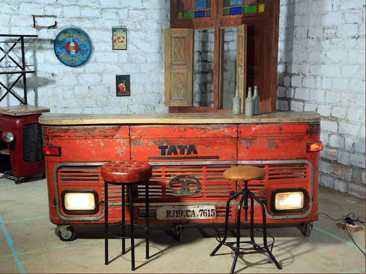India lorry bar Eclectic style garden by Garden Furniture Centre Eclectic