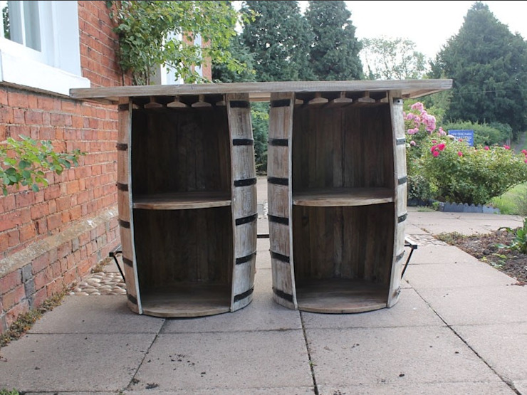 Double Barrel Bar Eclectic style garden by Garden Furniture Centre Eclectic