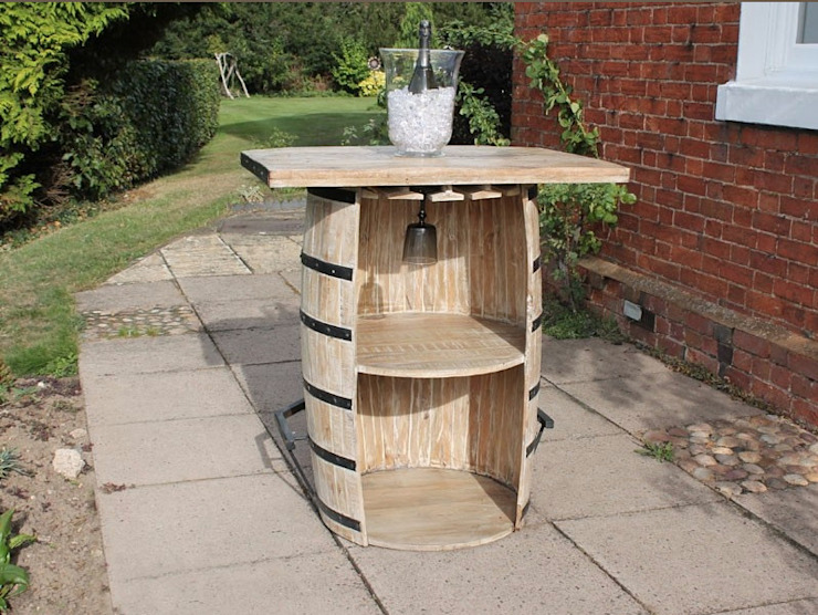 Single Barrel Bar Eclectic style garden by Garden Furniture Centre Eclectic