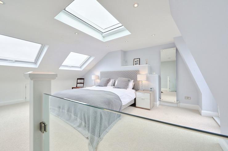 loft en forme de L conversion wimbledon chambre de style moderne par homify Modern