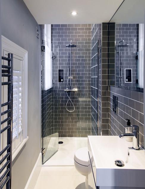 Salle de bain Addison Grove Modern par Hamilton King Modern
