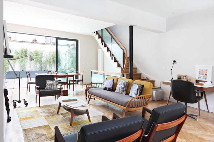 salon salon de style scandinave salon par niche pr Scandinavian Wood Effet bois