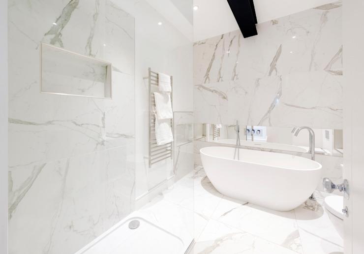 Roland Gardens Salle de bains moderne par BTL Property LTD Modern
