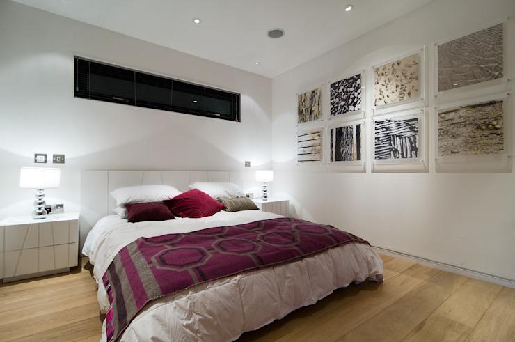 La chambre à coucher de style The Edge Modern par Boutique Modern Ltd Modern