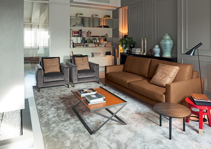 Canapé Alexandra : moderne par IQ Furniture, moderne en cuir gris