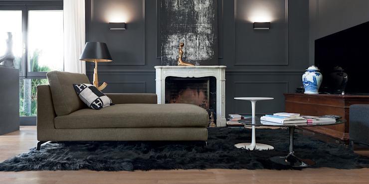 Canapé Alexandra : moderne par IQ Furniture, Modern Feathers Black