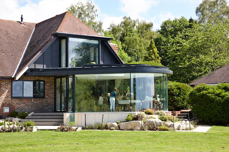 Photo extérieure Salle à manger moderne par Trombe Ltd Modern