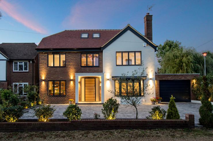 Hadley Wood - Maisons modernes du nord de Londres par New Images Architects Modern