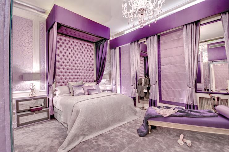 Chambre à coucher de style classique par homify Classic