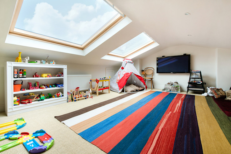 Netherton Grove Orchestrate Design and Build Ltd. Chambre d'enfant moderne
