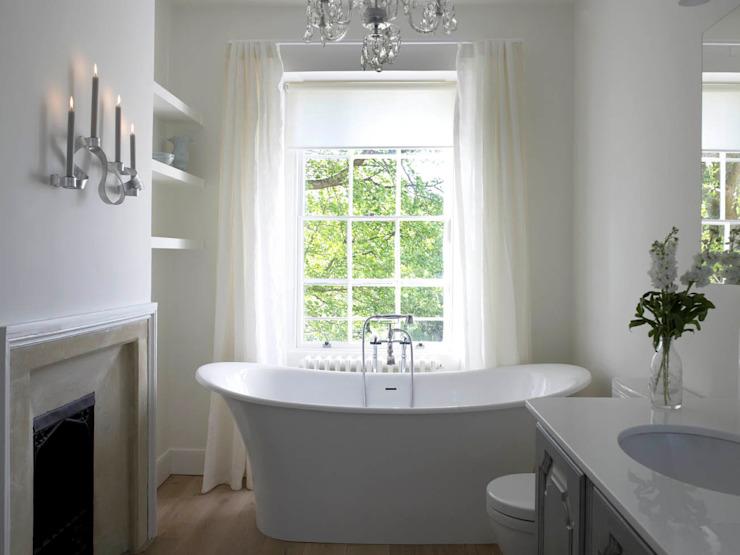 Salle de bains, The Wilderness, Wiltshire, salle de bains de style classique de Concept Interior Design & Decoration Ltd Classic