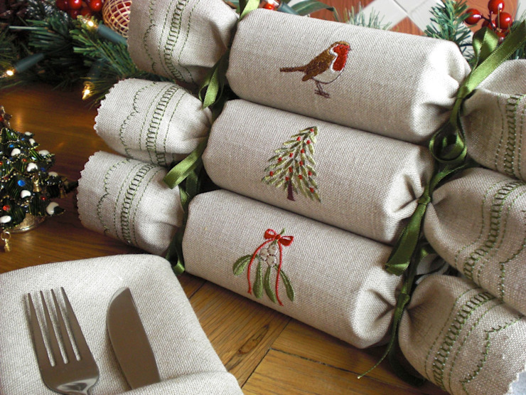 Woodland Reusable Christmas Crackers : country par Kate Sproston Design, Country
