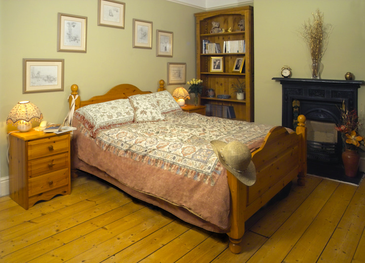 Chambre à coucher de style champêtre Chambre à coucher de style rustique par Style Within Rustic