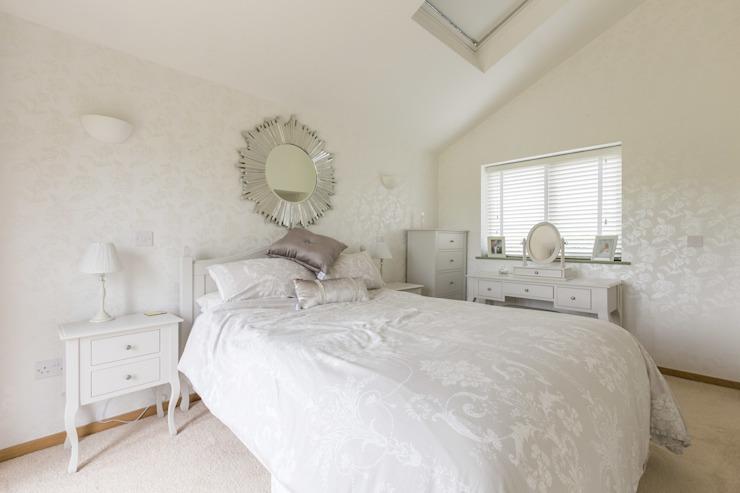 Freezeland Barn Chambre à coucher de style moderne par SDA Architecture Ltd Modern