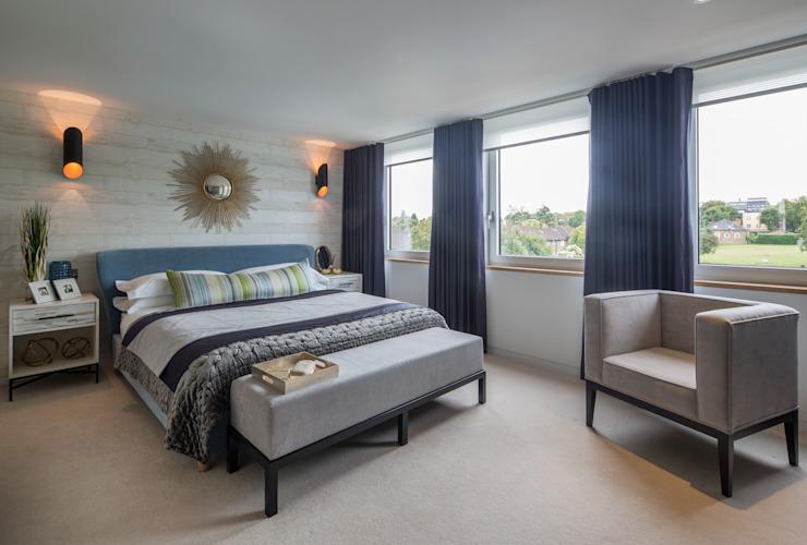 Argyll Place - Chambre à coucher principale Chambre à coucher de style moderne par Jigsaw Interior Architecture Modern