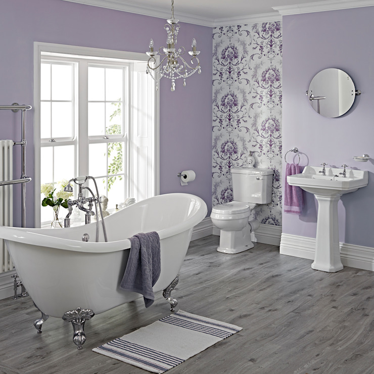 Salle de bains indépendante traditionnelle Milano Salle de bains de style classique par BigBathroomShop Classic