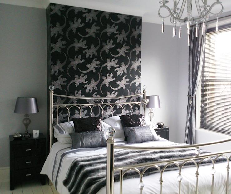 Chambre à coucher de style éclectique par Kerry Holden Interiors Eclectic