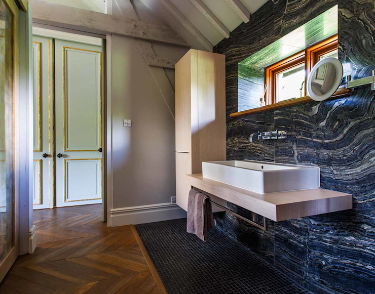 Extension vitrée Salle de bains moderne de Pfeiffer Design Ltd Modern