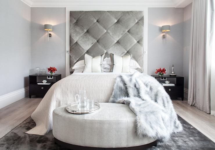 Photographie pour Kingshall Estates / Vastu Interiors - Maison à Northwood, Londres Chambre à coucher de style moderne par Adelina Iliev Photographie moderne