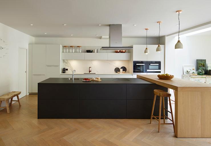 L'élégance combinée Cuisine moderne par Kitchen Architecture Modern