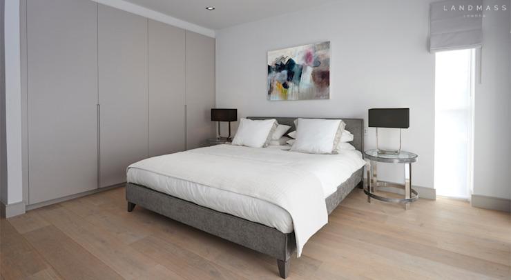 CHAMBRE D'HÔTE Chambre de style moderne par Landmass London Modern