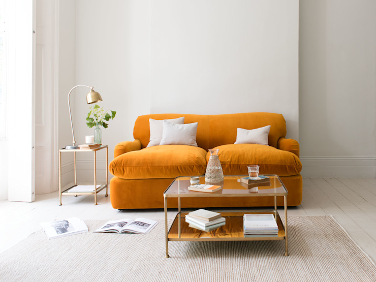 Canapé-lit à pudding Salon moderne par Loaf Modern