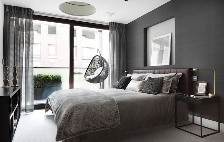 Maison romaine Chambre à coucher de style moderne par The Manser Practice Architects + Designers Modern