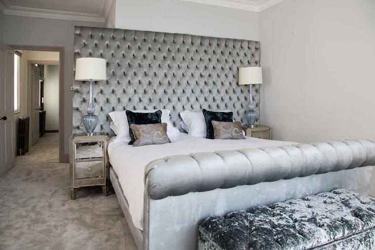Town House Brighton Chambre à coucher de style classique par Pfeiffer Design Ltd Classic