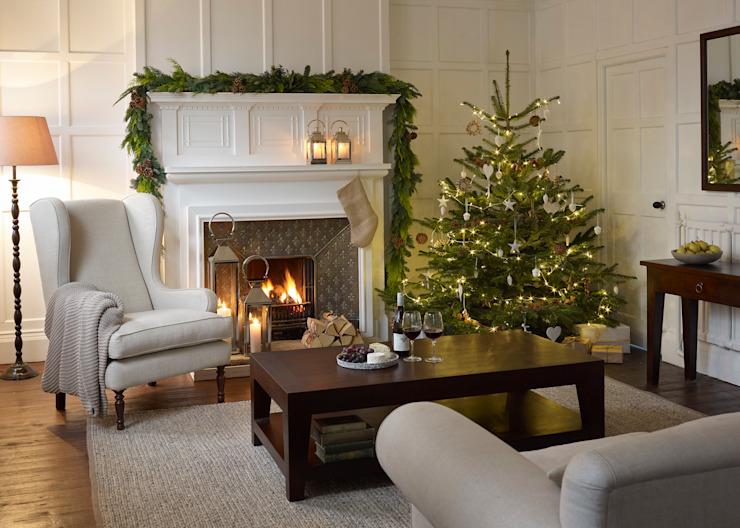 Inspiration de Noël : Le salon de style