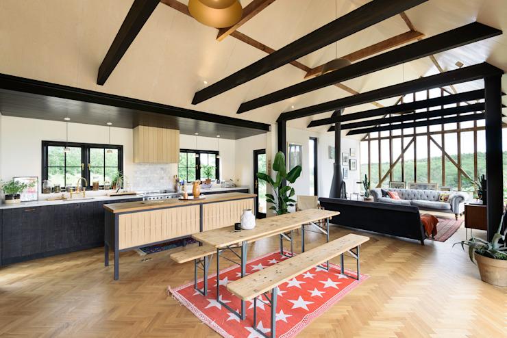 The Kent Kitchen de deVOL Cuisine de style rustique de deVOL Kitchens Effet bois rustique