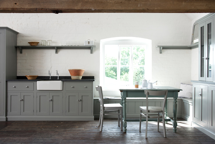 The Loft Shaker Kitchen de deVOL Cuisine de style rustique de deVOL Kitchens Rustic