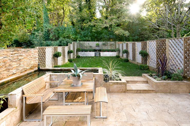 Jardin moderne par homify Modern