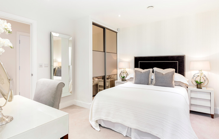Master Bed de WN Interiors Chambre à coucher de style moderne de WN Interiors Modern