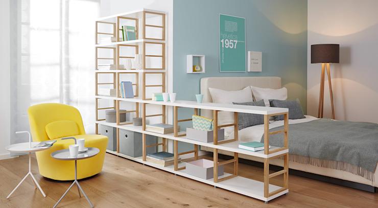 MAXX-Etagères ouvertes Chambre à coucher de style scandinave par Regalraum UK Scandinavian