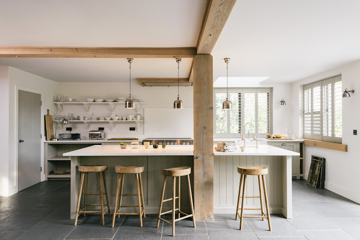 The Henley on Thames Kitchen de deVOL Cuisine de style rustique de deVOL Kitchens Rustic