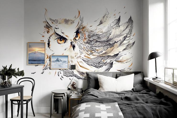 Chambre à coucher de style