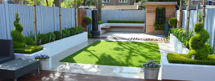 Jardin minimaliste Jardin de style minimaliste par Landscaper in London Minimalist