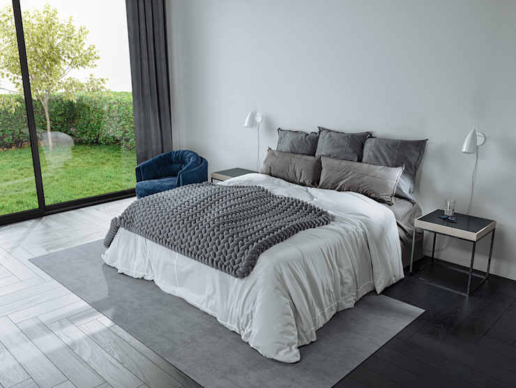 Nottingham NG11 par A33SOME Chambre à coucher de style moderne par A33SOME CGI Studio Modern