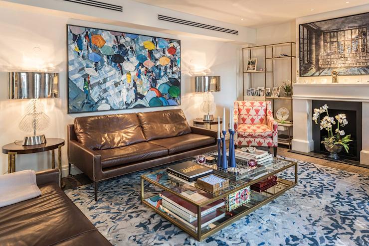 Salon RBD Architecture & Interiors Salon de style classique