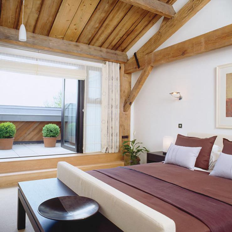 Appartement entrepôt Chambre à coucher de style classique par 4D Studio Architects and Interior Designers Classic