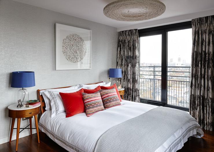 Gloucester Road Penthouse Chambre à coucher de style moderne par Bhavin Taylor Design Modern