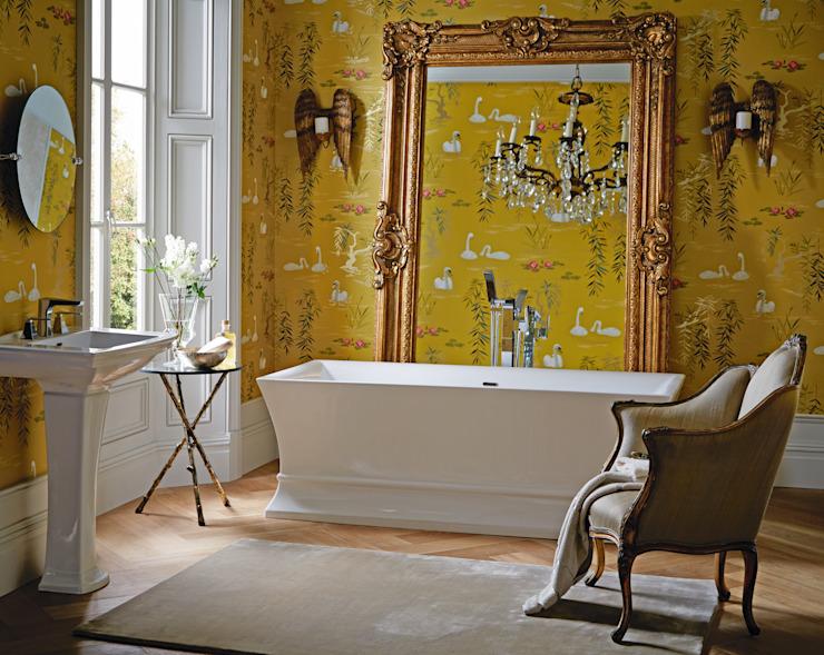 Salle de bain en acrylique autonome Penrose Salle de bain de style classique par Heritage Bathrooms Classic