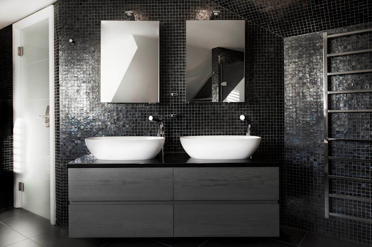 Salle de bain de luxe Salle de bain moderne par Studio Hooton Modern