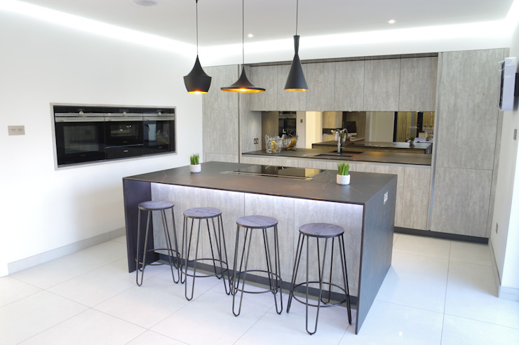 Un design élégant et sans effort Cuisine moderne de PTC Kitchens Modern