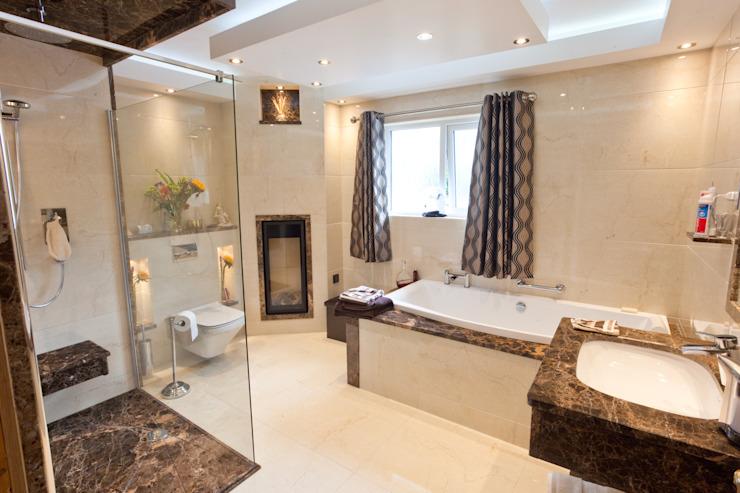 Salle de bains de luxe en marbre de style classique par Banbridge Bathroom Centre Classic