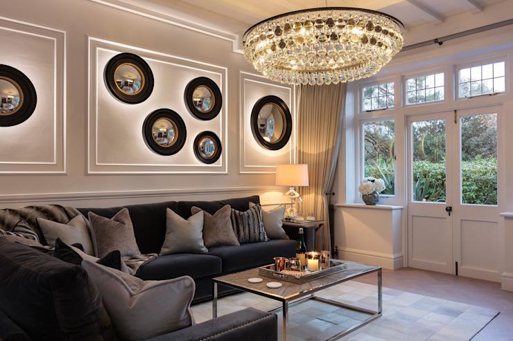 Rénovation d'une maison familiale moderne Salon moderne par WN Interiors Modern