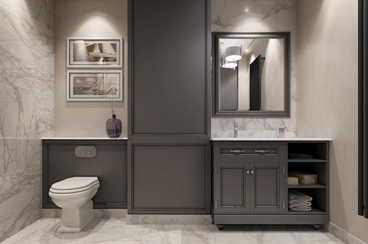 Résidence privée à Londres Salle de bain de style classique par EVGENY BELYAEV DESIGN Classic