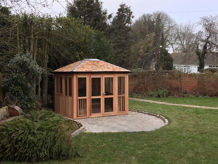 Chambres de jardin en plein air Jardin moderne par Garden Furniture Centre Modern