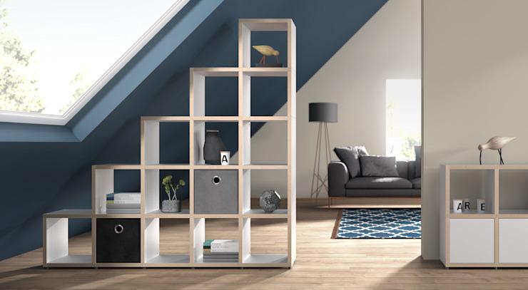BOON-Cube Storage Units - Étagères à gradins Salon de style scandinave par Regalraum UK Scandinavian